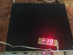 цифровой электронный термометр