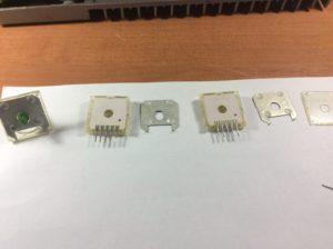 Разобранный резистор РП1-57Е