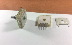 Секция резистора РП1-57Е