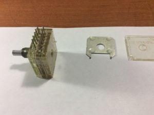 Снята разделительная пластина РП1-57Е