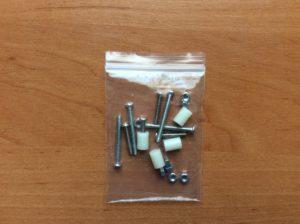 Для соединения деталей корпуса и зак комплект крепежных элементов