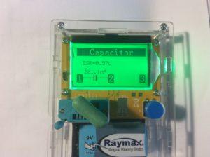 Конденсатор пленочный К73-9 0,27 мкФ.