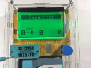 тестер радиоэлектронных компонентов LCR-T4