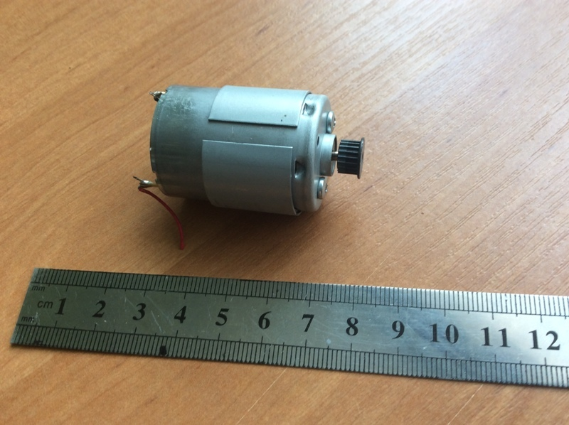 электродвигатель от принтера Canon