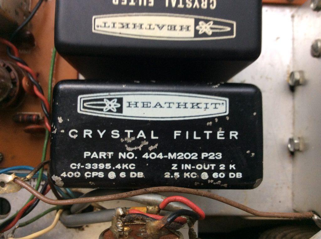 телеграфный кварцевый фильтр