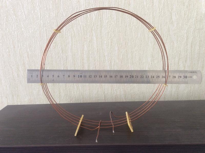 рамочная активная антенна